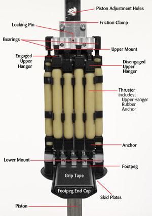 Flybar Model 1200 Heavy Duty Trick Pogo Stick