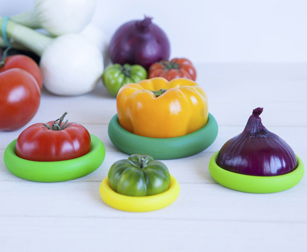 Food Huggers - Reusable Silicone Fruit and Vegetable ...