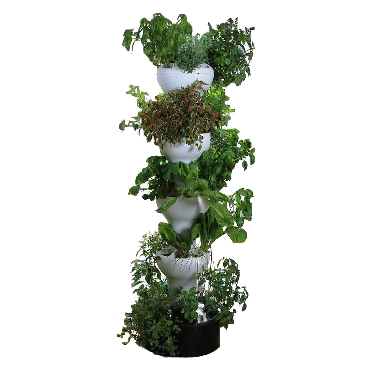 Foody 8 Vertical Hydroponic Garden Tower The Green Head