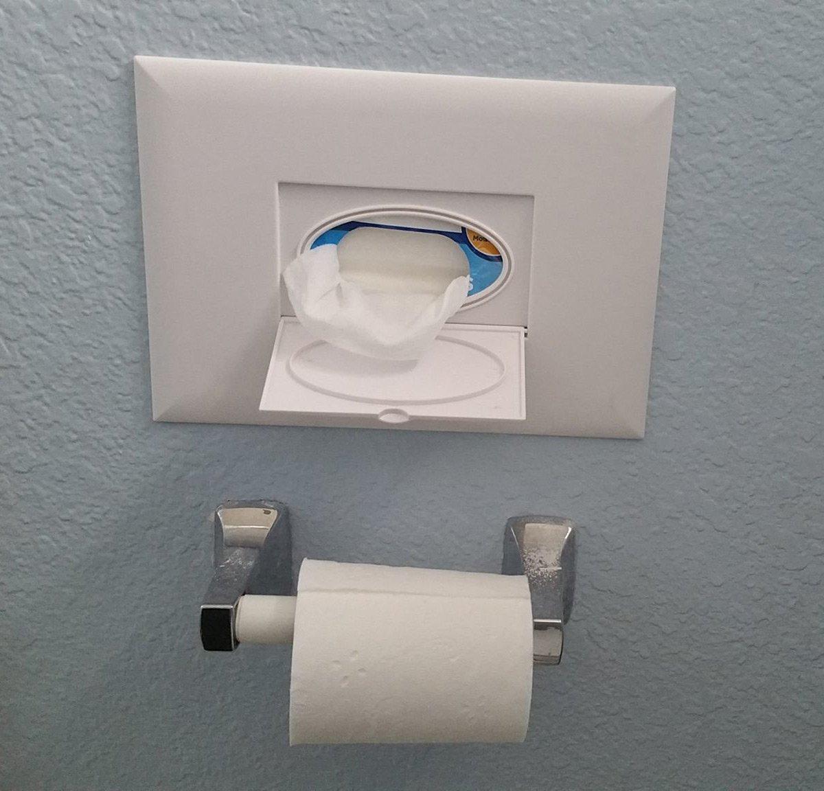 Bathroom Design Magazines Forever Fresh In Wall Wet Wipe Dispenser The Green Head