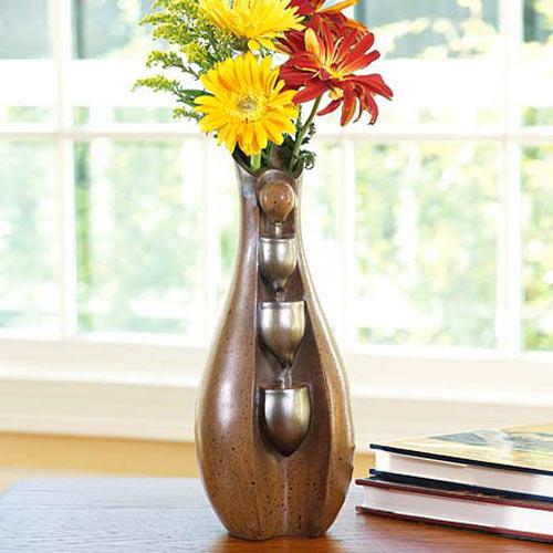Fountain Vase Flowers Stay Fresh Longer The Green Head