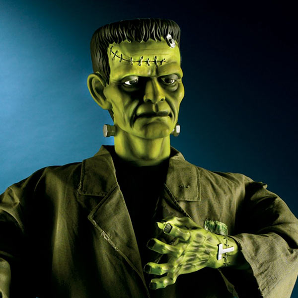 5-Foot Tall Animated Frankenstein's Monster! - The Green Head