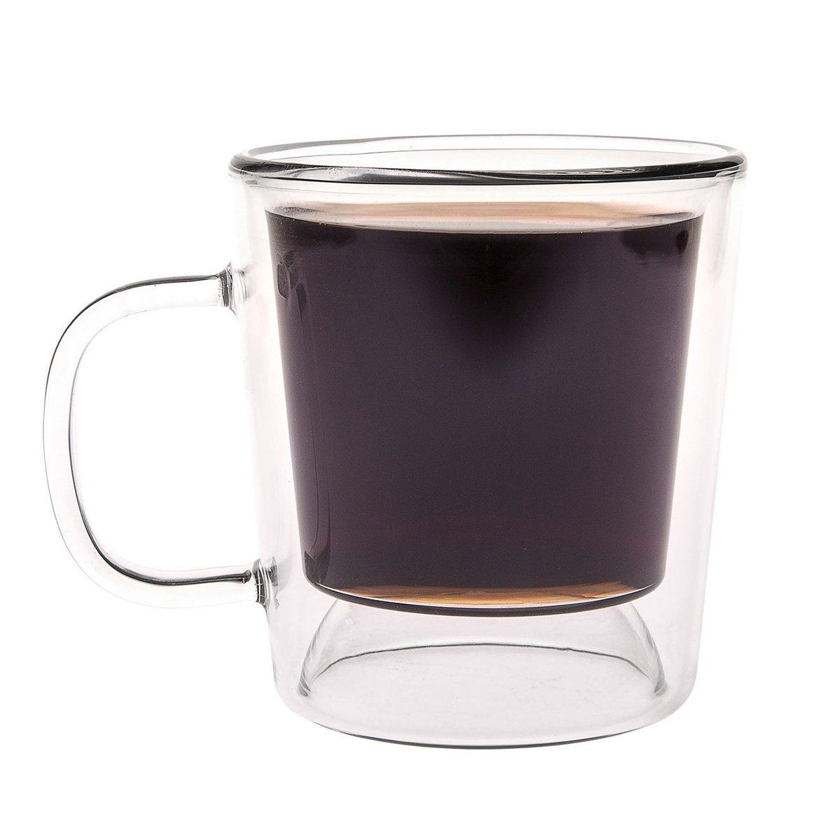 Gamago Double Shot Reversible Coffee Espresso Mug
