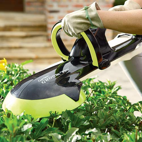 Garden Groom PRO Lightweight Rotary Blade Hedge Trimmer The