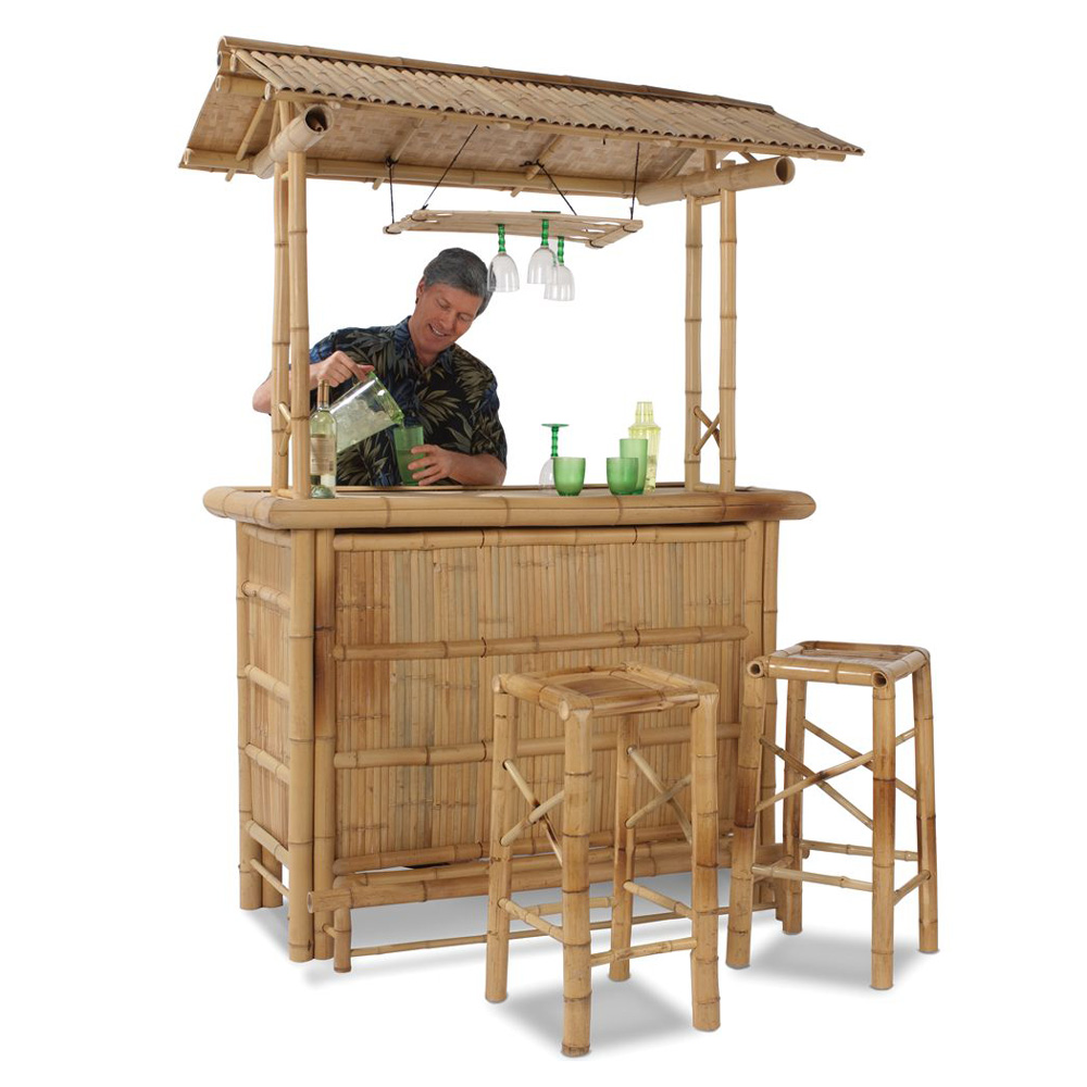 Genuine Bamboo Tiki Bar The Green Head