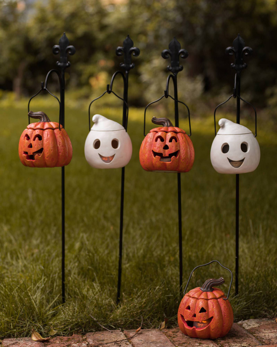 rite aid led lighted ghost yard stakes halloween decoration