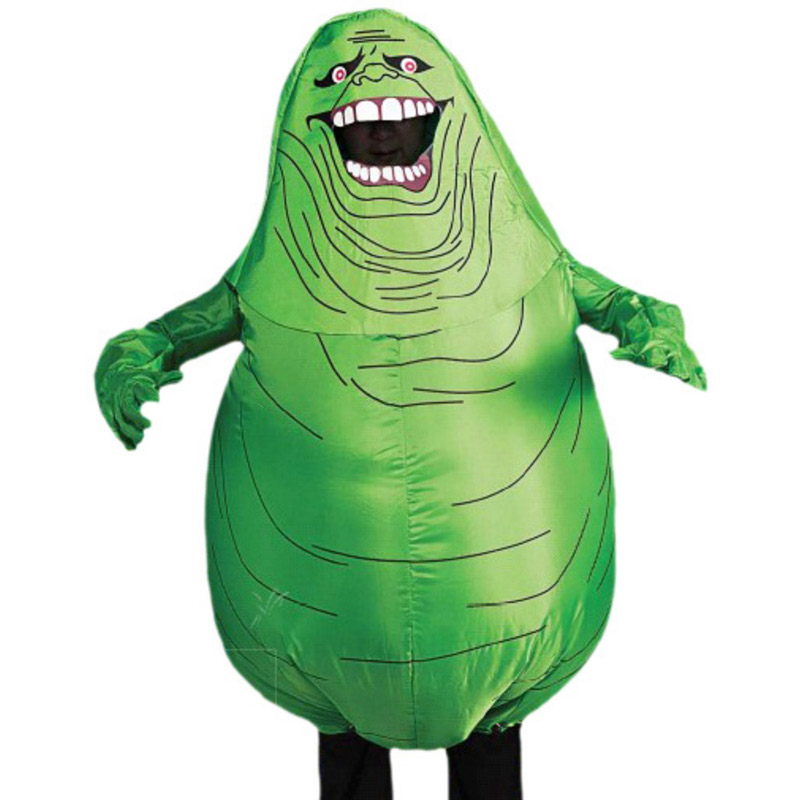 Ghostbusters Inflatable Slimer Costume Green Head