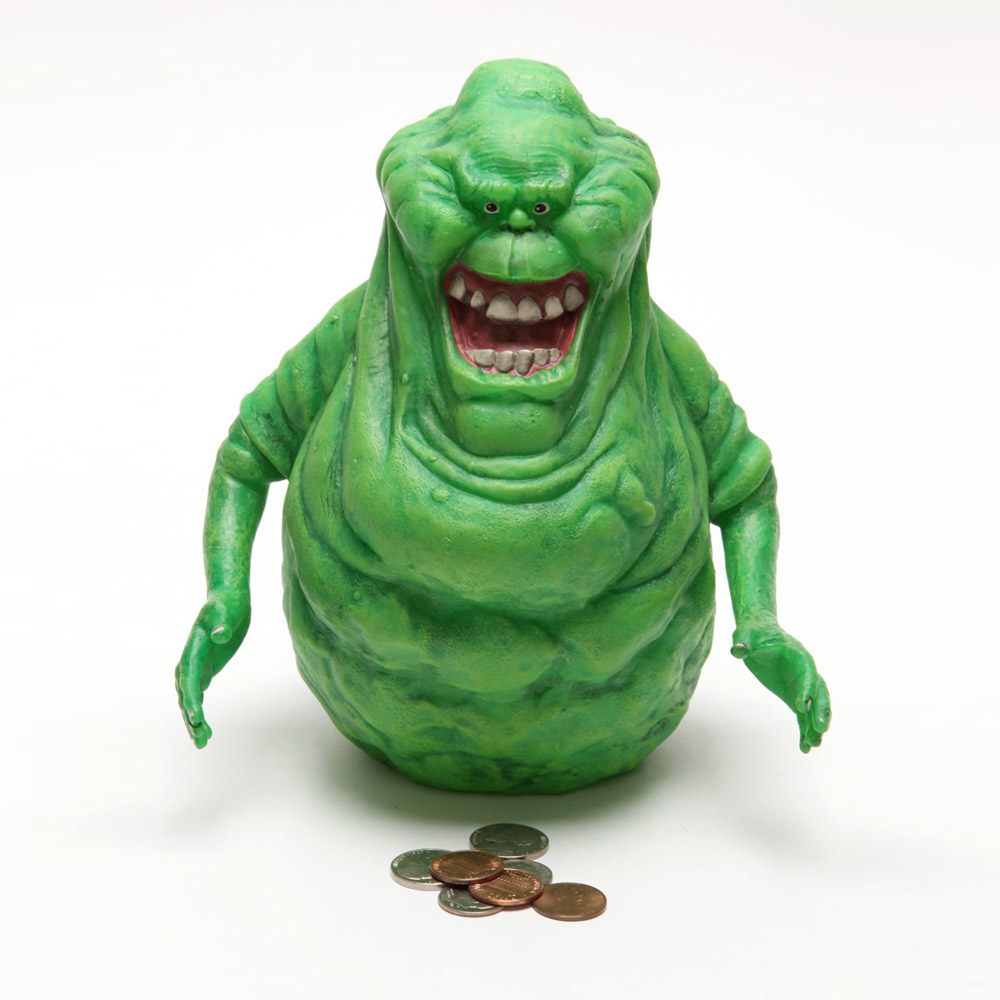 Ghostbusters Slimer Glow In The Dark Bank Money Box By ...
