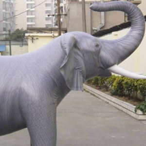 Giant 7 Inflatable Elephant The Green Head