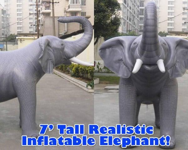 Giant 7 Inflatable Elephant