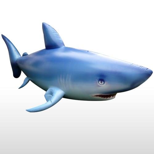 Giant 7 39 Inflatable Shark The Green Head
