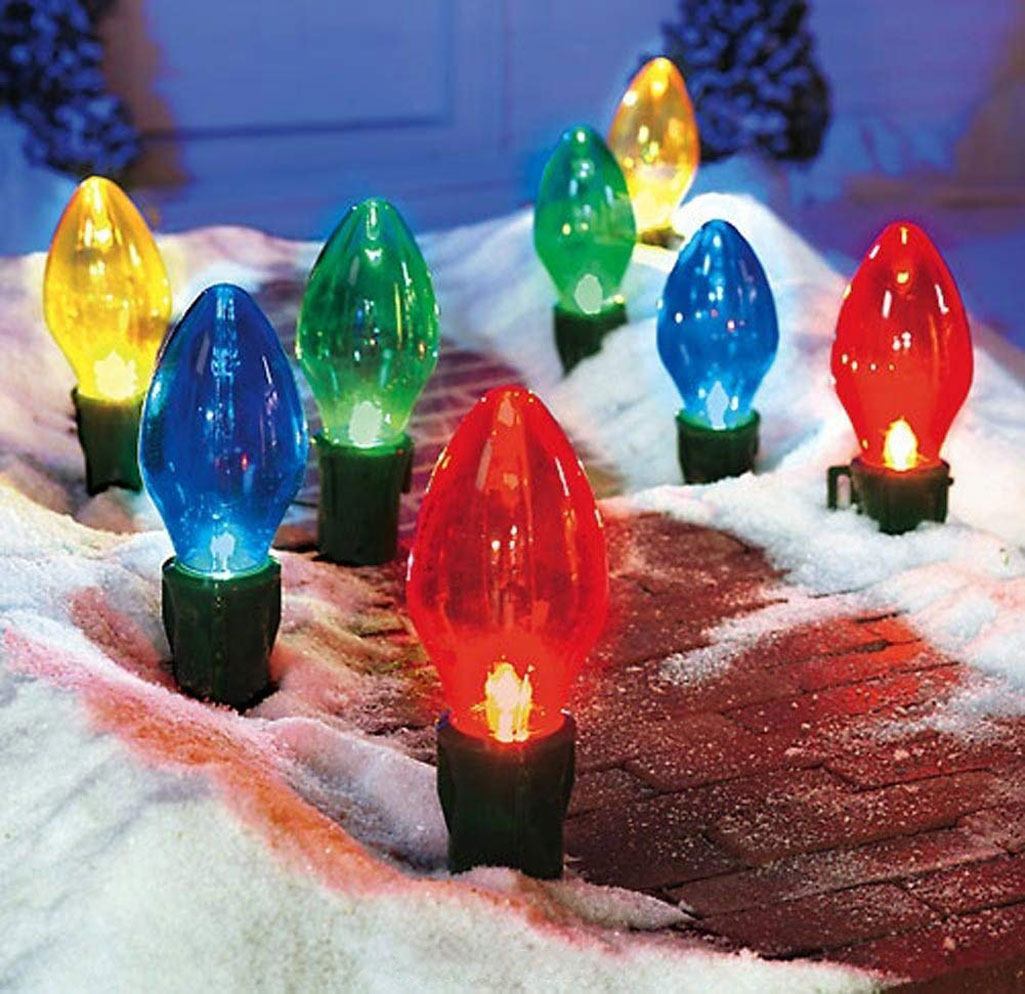 Giant bulb outdoor christmas lights the green head giant bulb outdoor christmas lights aloadofball Image collections