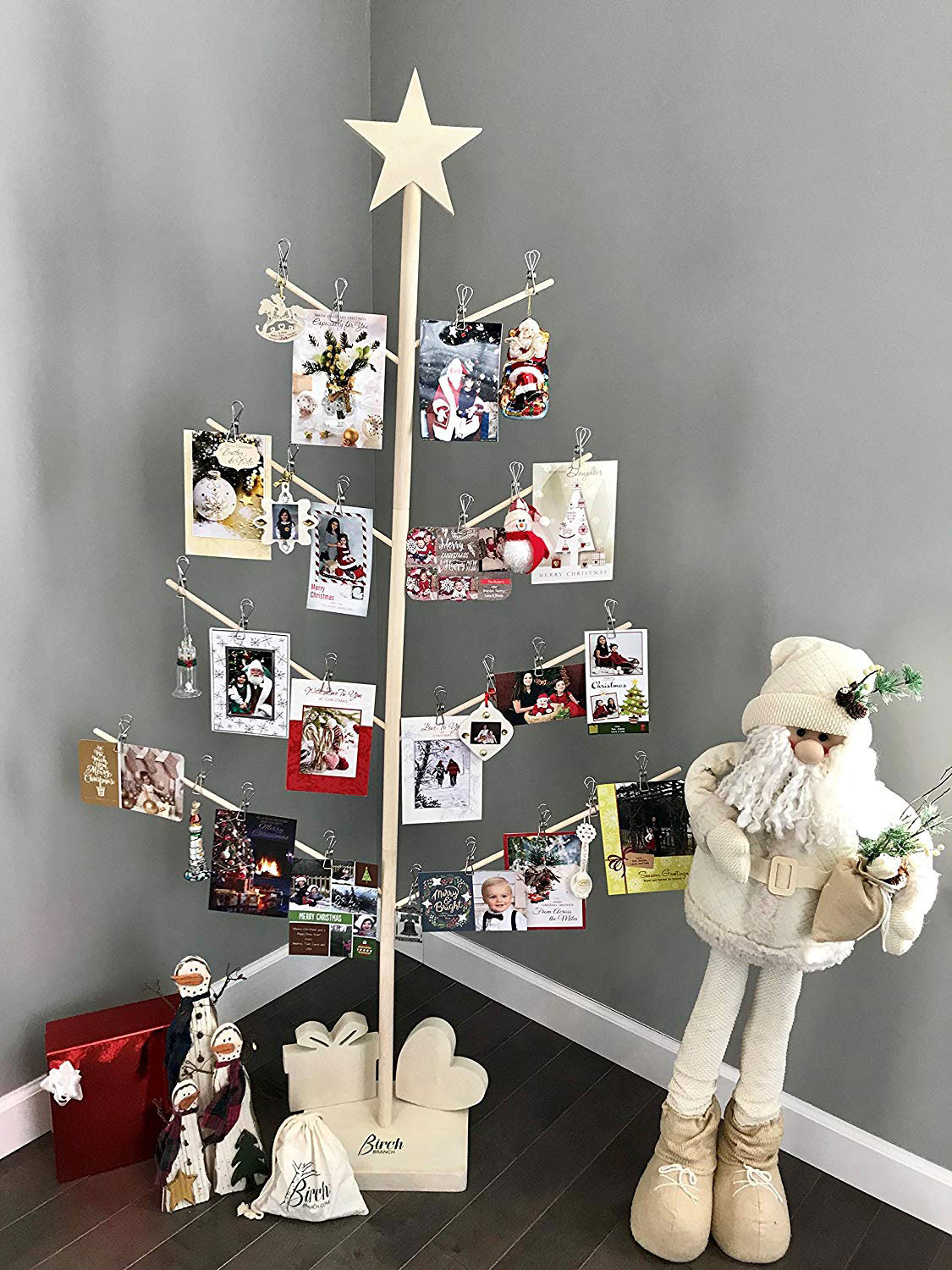Giant Christmas Tree Card And Photo Holder