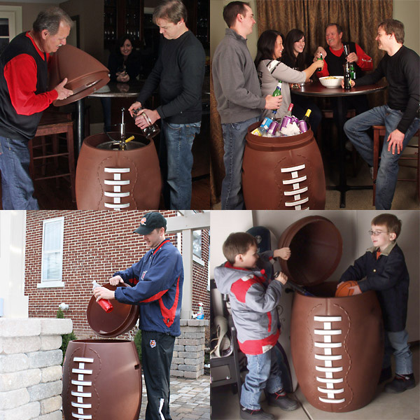 Merveilleux Giant Football Cooler