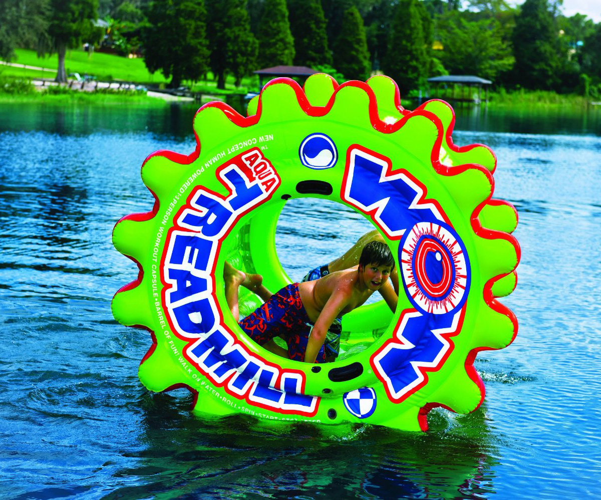 Giant Inflatable Aqua Treadmill The Green Head