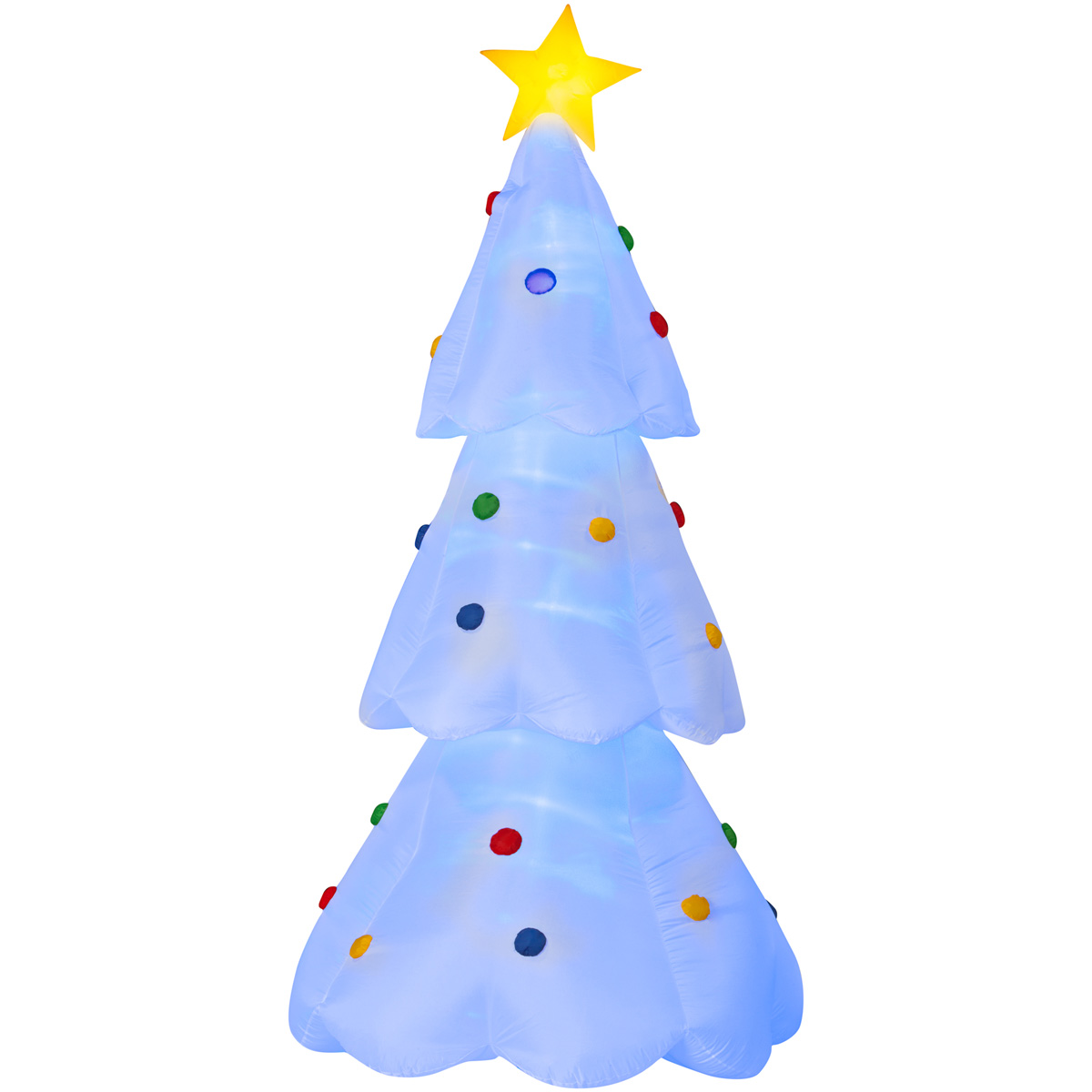 Giant Inflatable Color-Changing Christmas Tree - The Green ...
