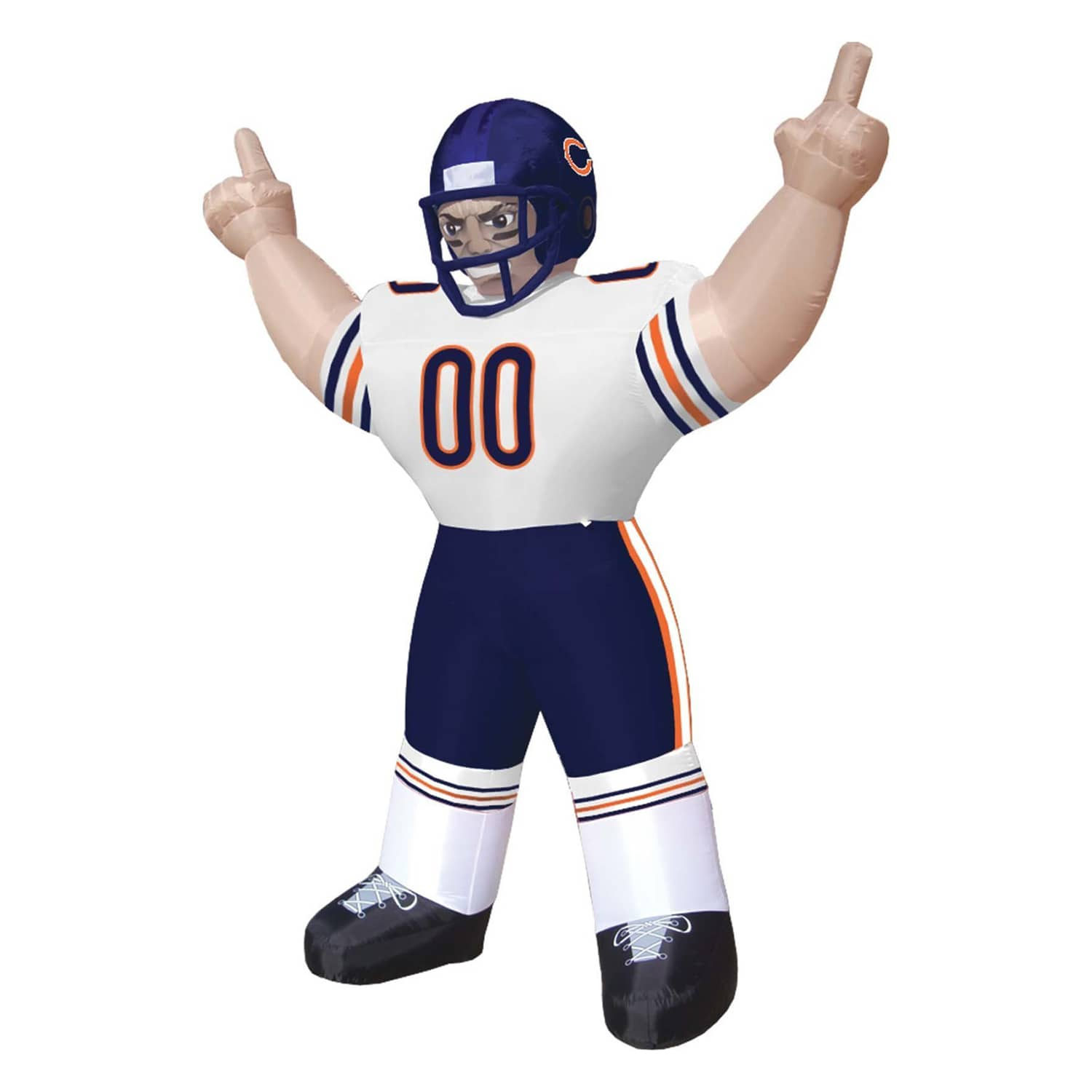 giant inflatable nfl players the green head
