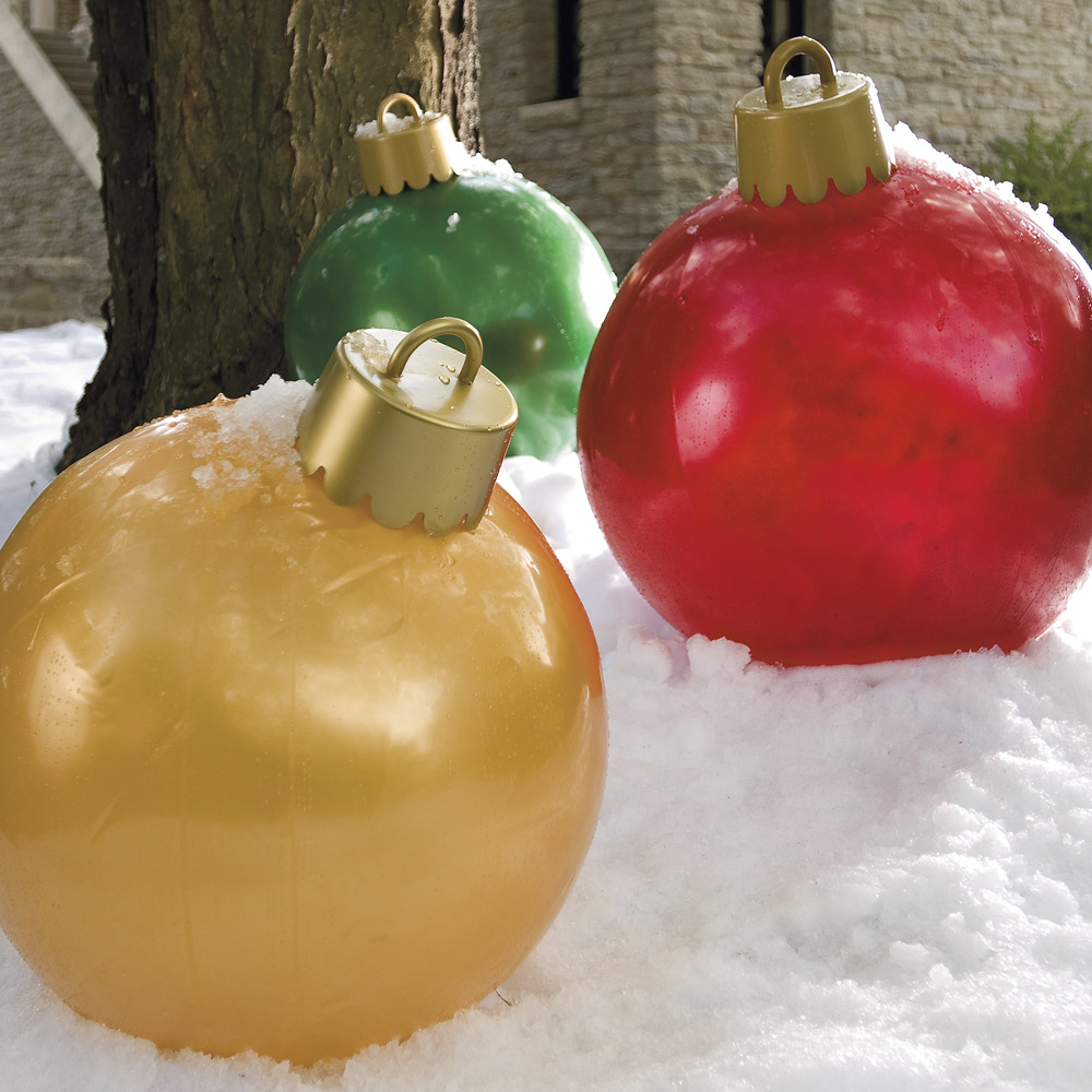 giant inflatable ornaments - Blow Up Christmas Decorations