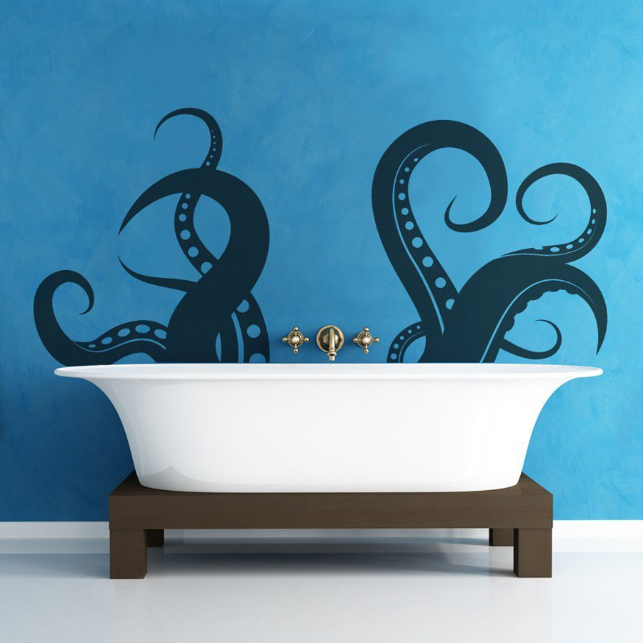 Giant Tentacle Wall Decal The Green Head