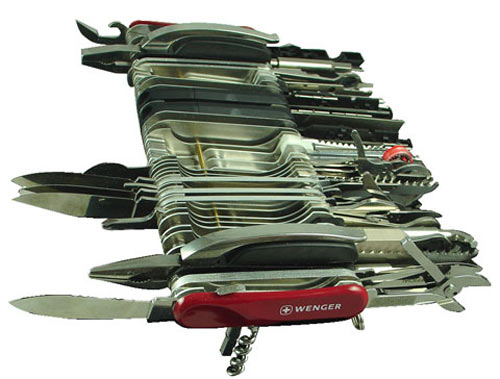 Wenger Giant Swiss Army Knife 85 Tools 100 Functions 1