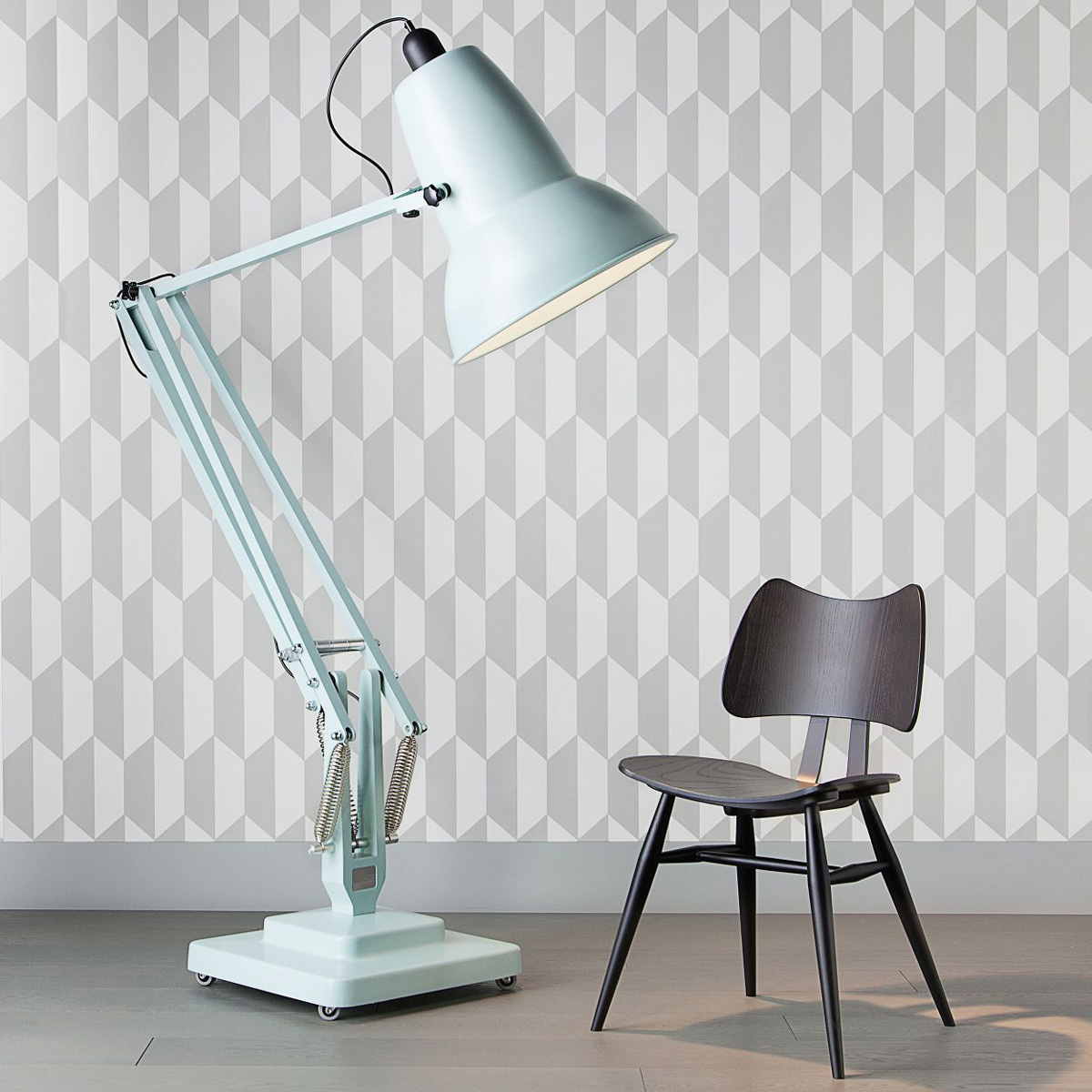 Gigantic Anglepoise Original 1227 Floor Lamp The Green Head