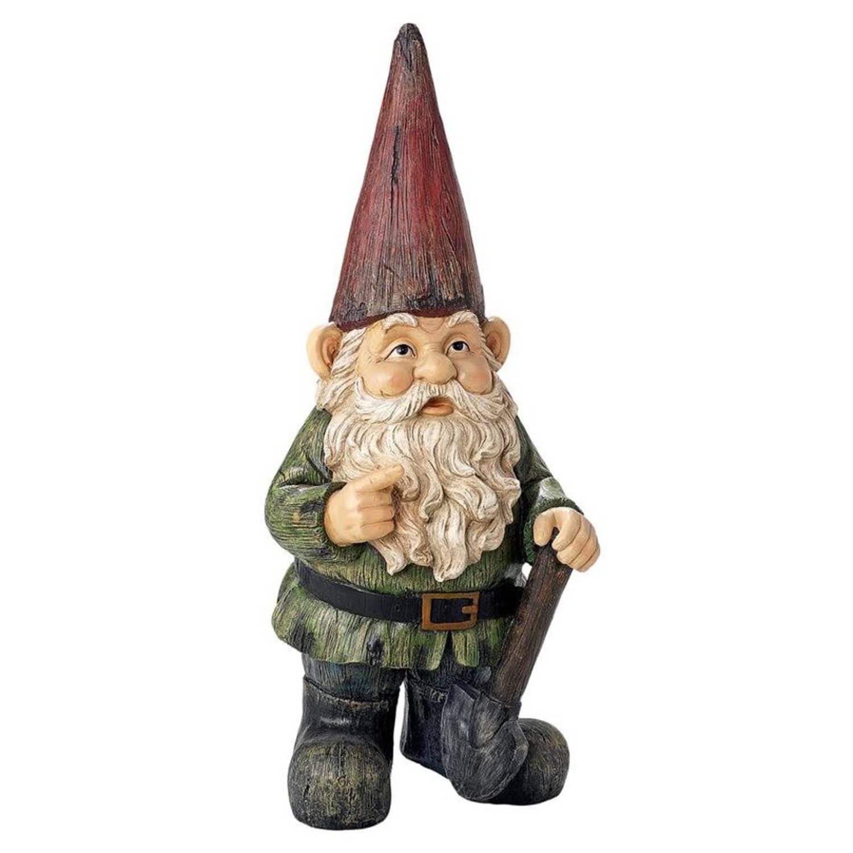 Gnome In Garden: Gigantic Garden Gnome Statue