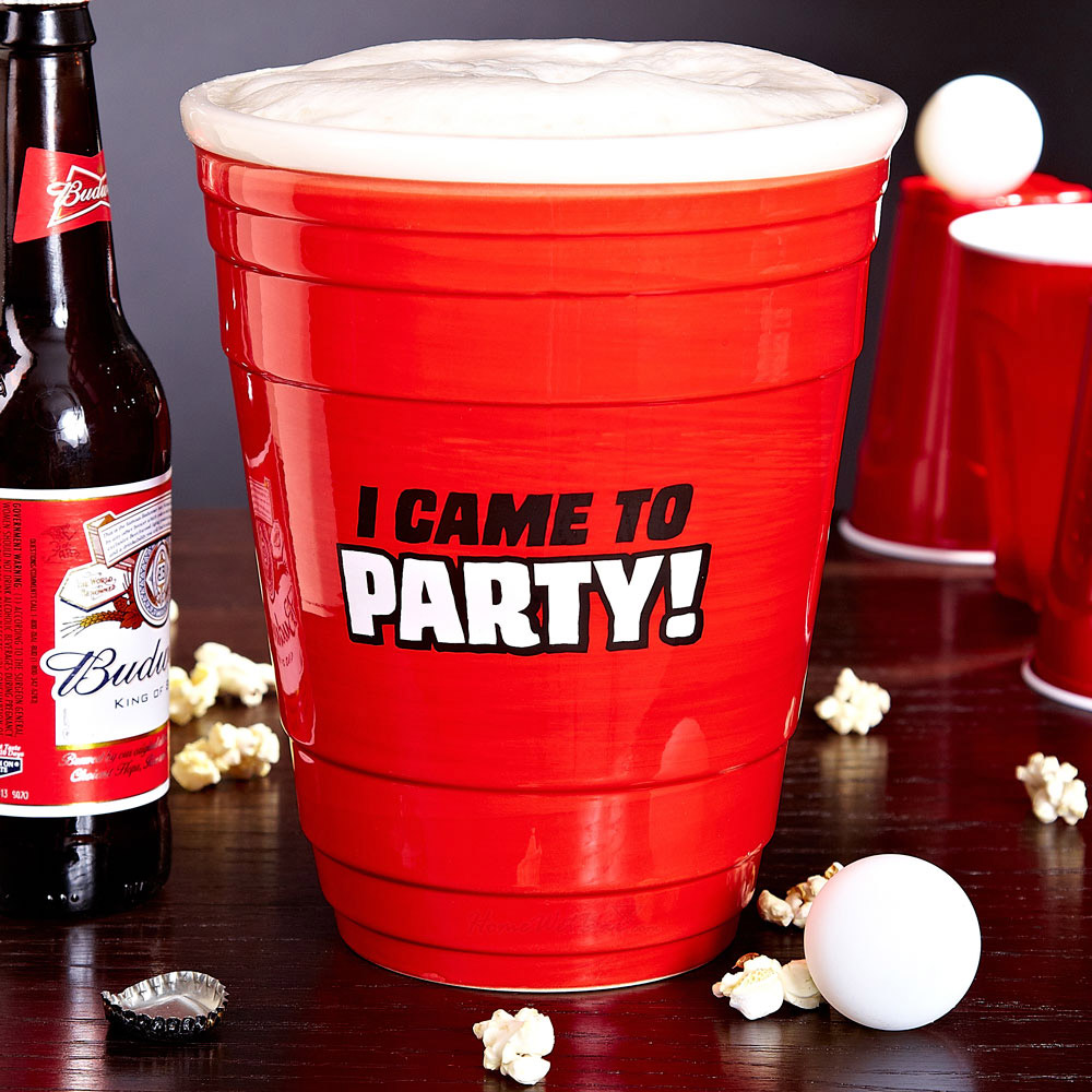 Gigantic Red Party Cup 64 Oz The Green Head