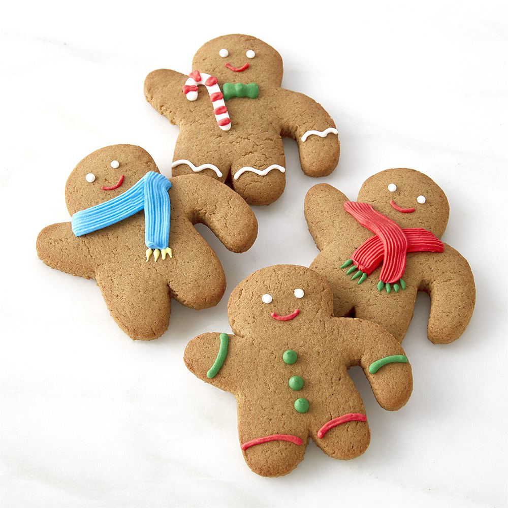 gingerbread man cookie mug toppers   the green head