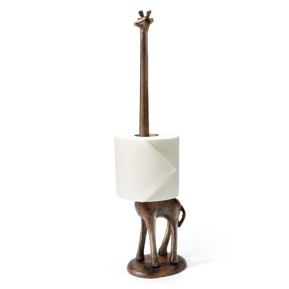 Giraffe Paper Towel Toilet Paper Holder The Green Head