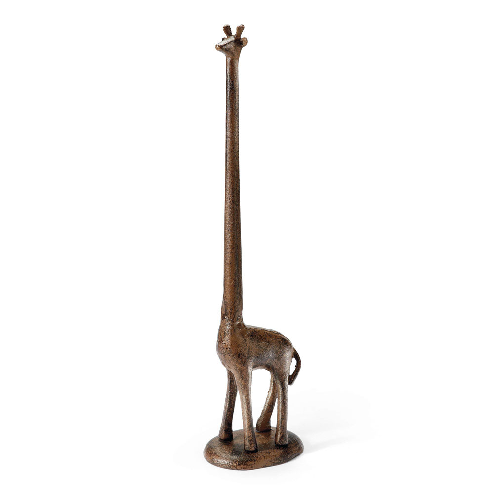 Giraffe paper towel toilet paper holder the green head Animal toilet paper holder