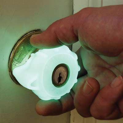 Great Grips - Glow-in-the-Dark Doorknob Grips - The Green Head