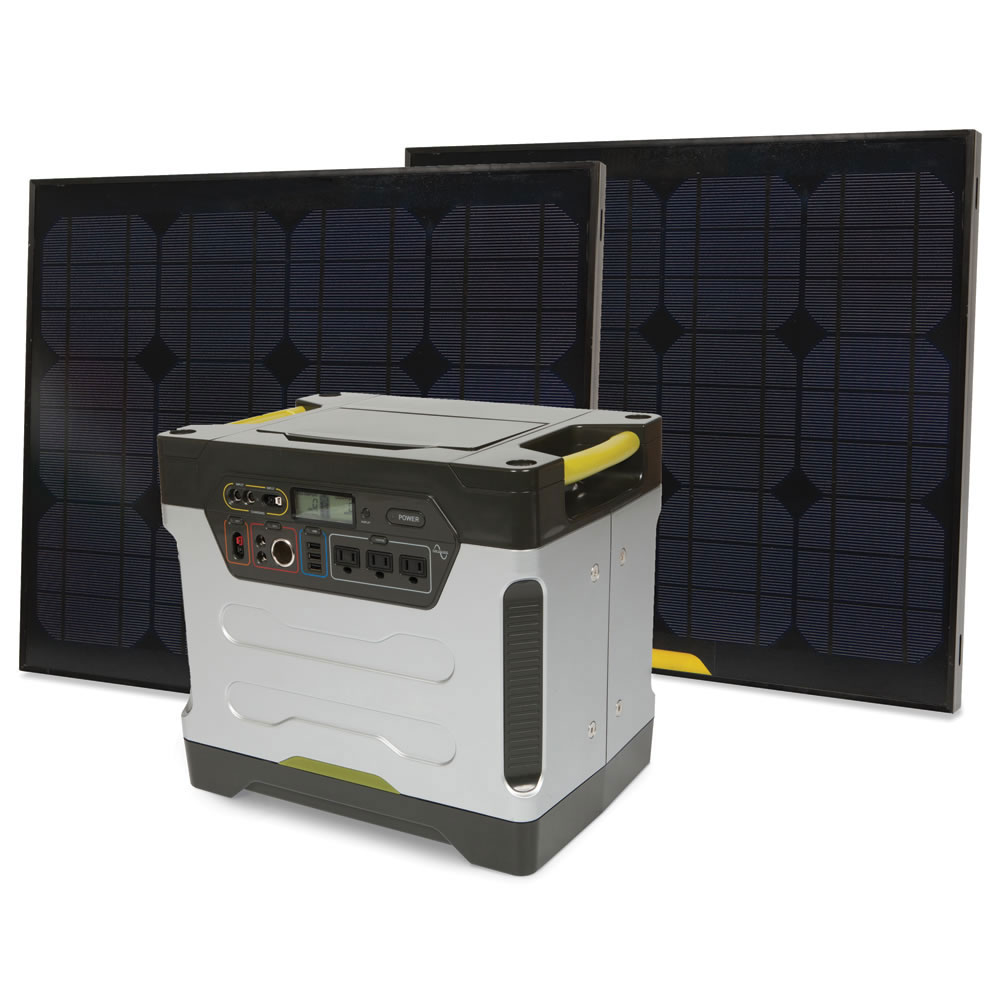 Goal Zero Yeti 1250 - Solar Generator - The Green Head