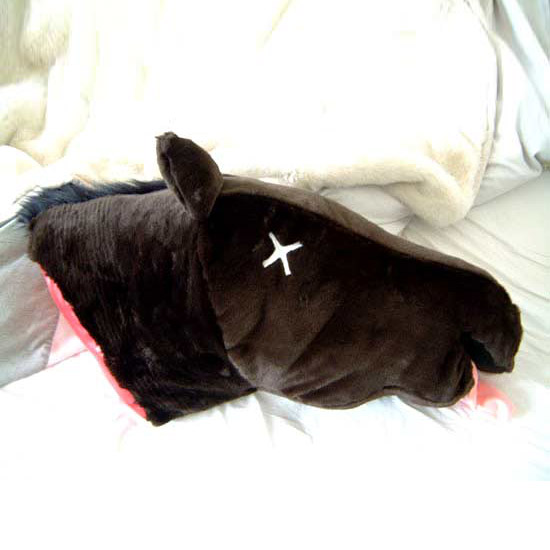 godfather horse head pillow the green head