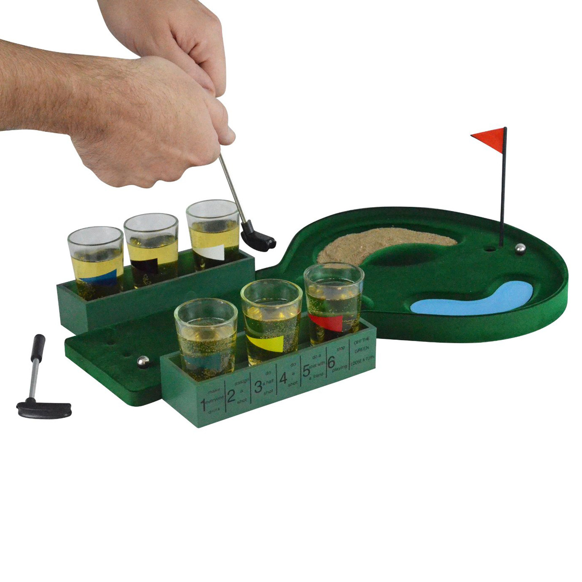 Hole Golf Drinking Game