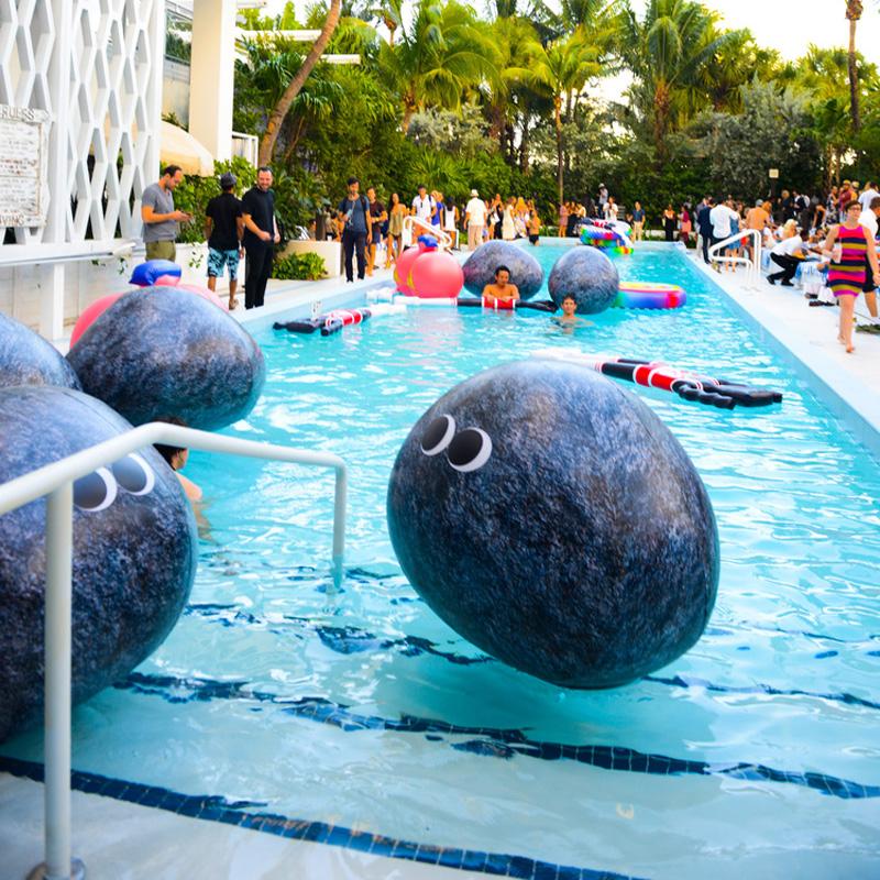 Googly Eyed Rock Pool Float