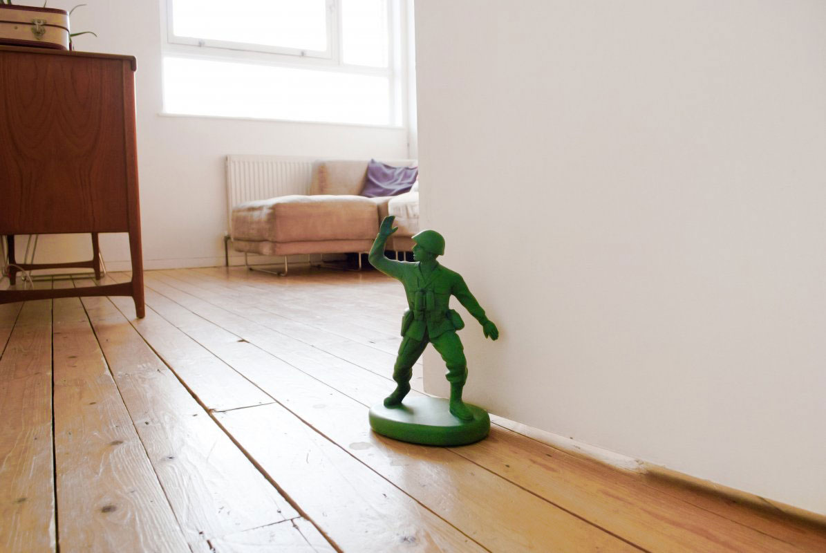 Green Army Man Door Stop & Green Army Man Door Stop - The Green Head