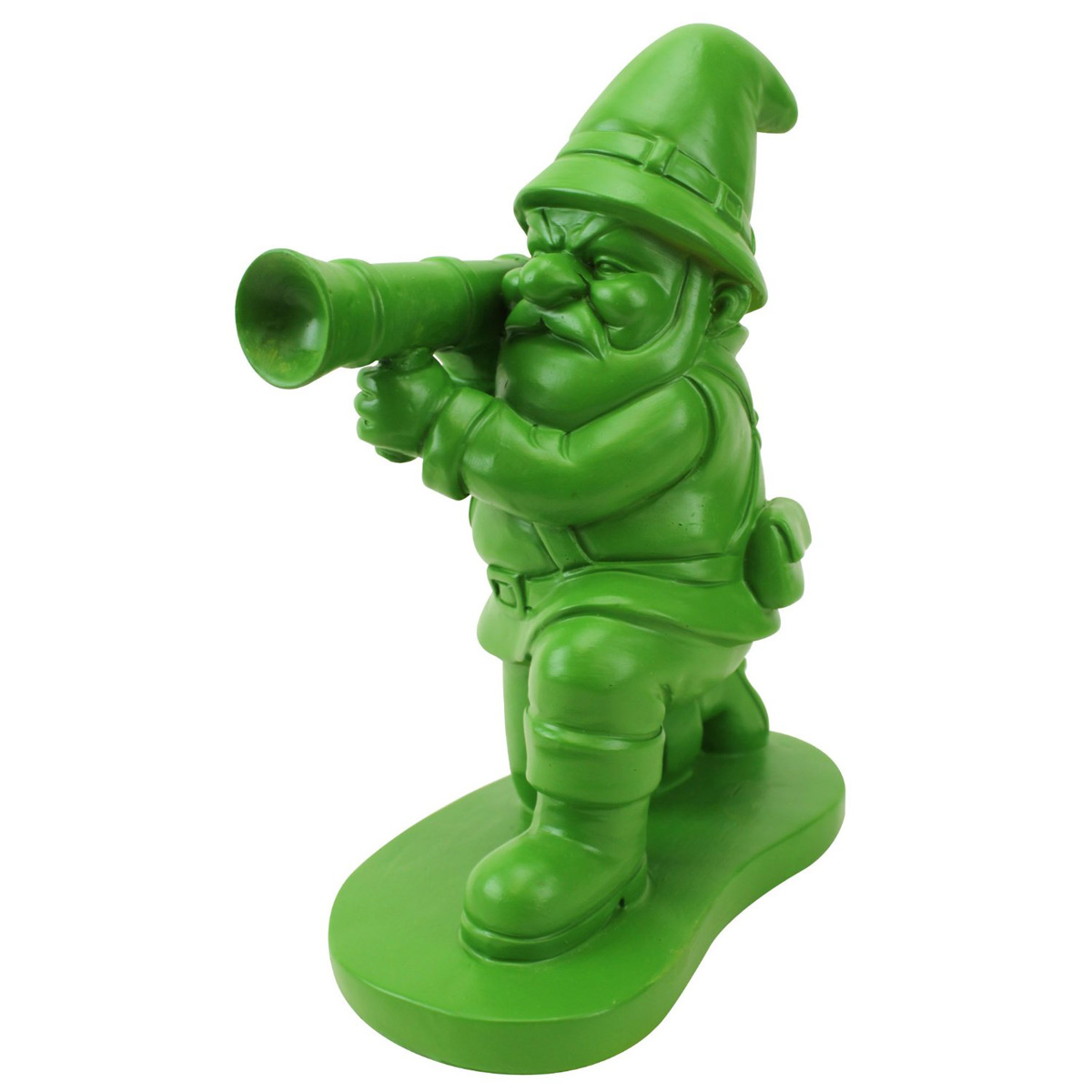Green Army Man Garden Gnome The Head