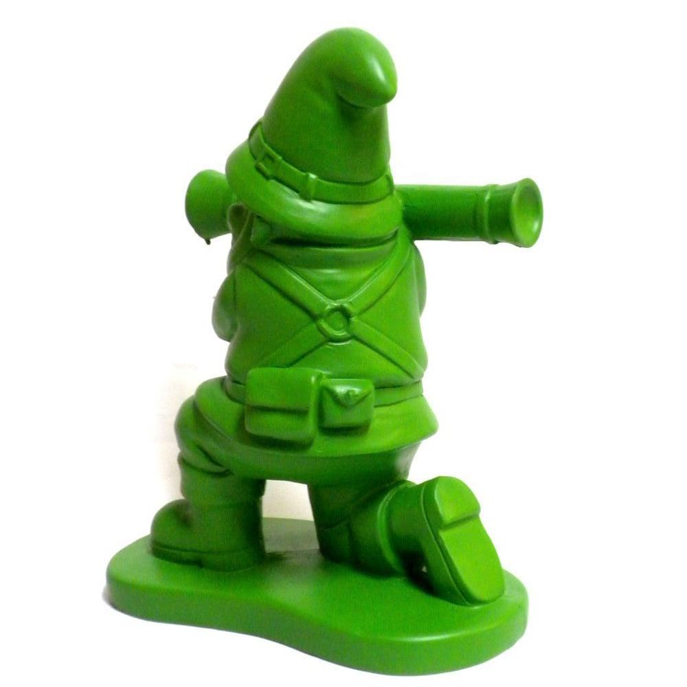 Green Army Man Garden Gnome The Head