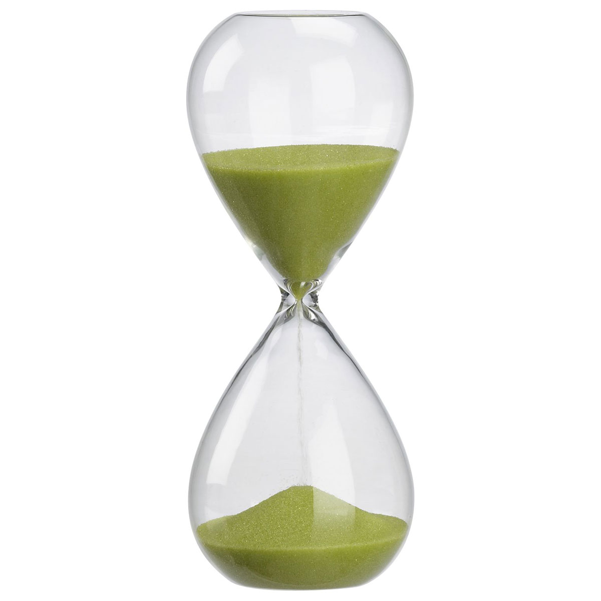 Beautiful Wall Clocks Green Sand Hour Glass The Green Head