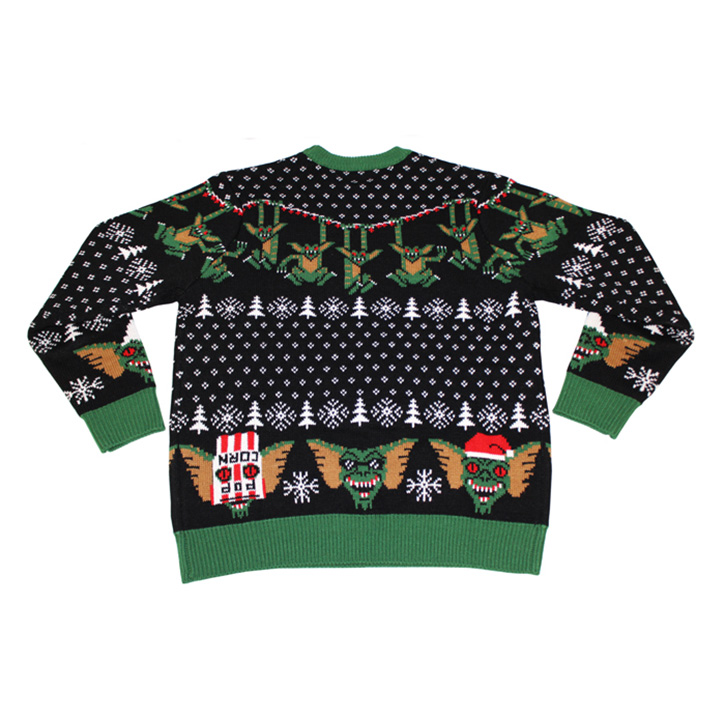 Gremlins Knit Sweater - The Green Head