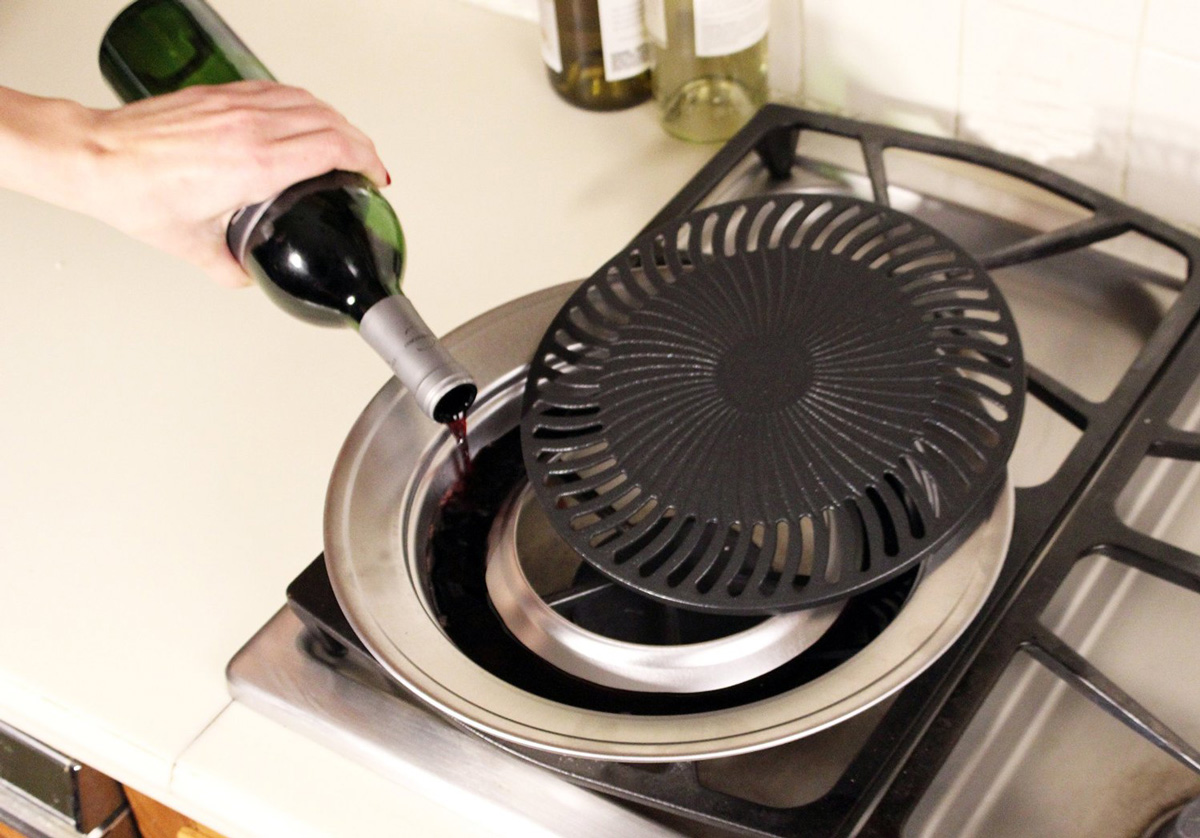 Grill It - Smokeless Indoor Stovetop Grill - The Green Head