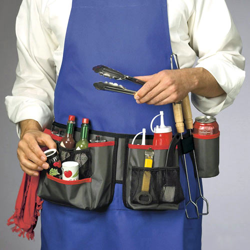 Ultimate Grillers Tool Belt The Green Head