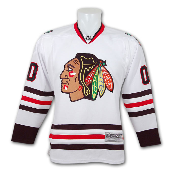 83e0cd7e9 Clark Griswold - Chicago Blackhawks Jersey from Christmas Vacation
