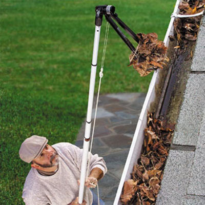Gutter Sense - Rain Gutter Cleaning Tool - The Green Head