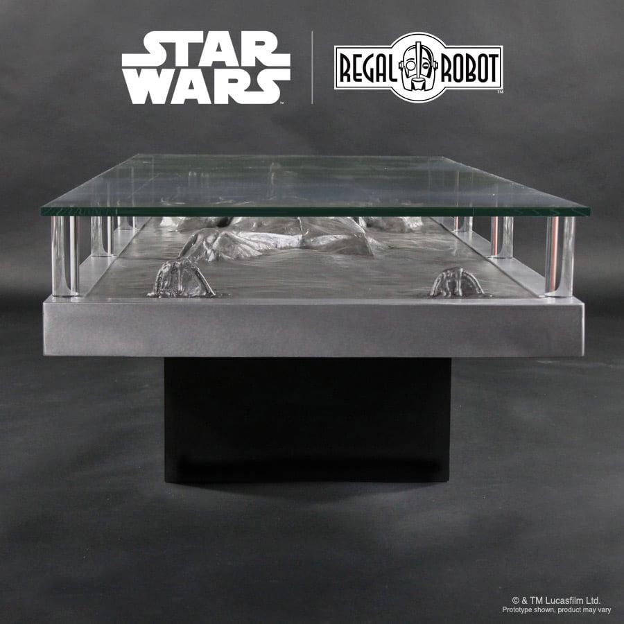 Han Solo Frozen In Carbonite Coffee Table - Han Solo Frozen In Carbonite Coffee Table - The Green Head