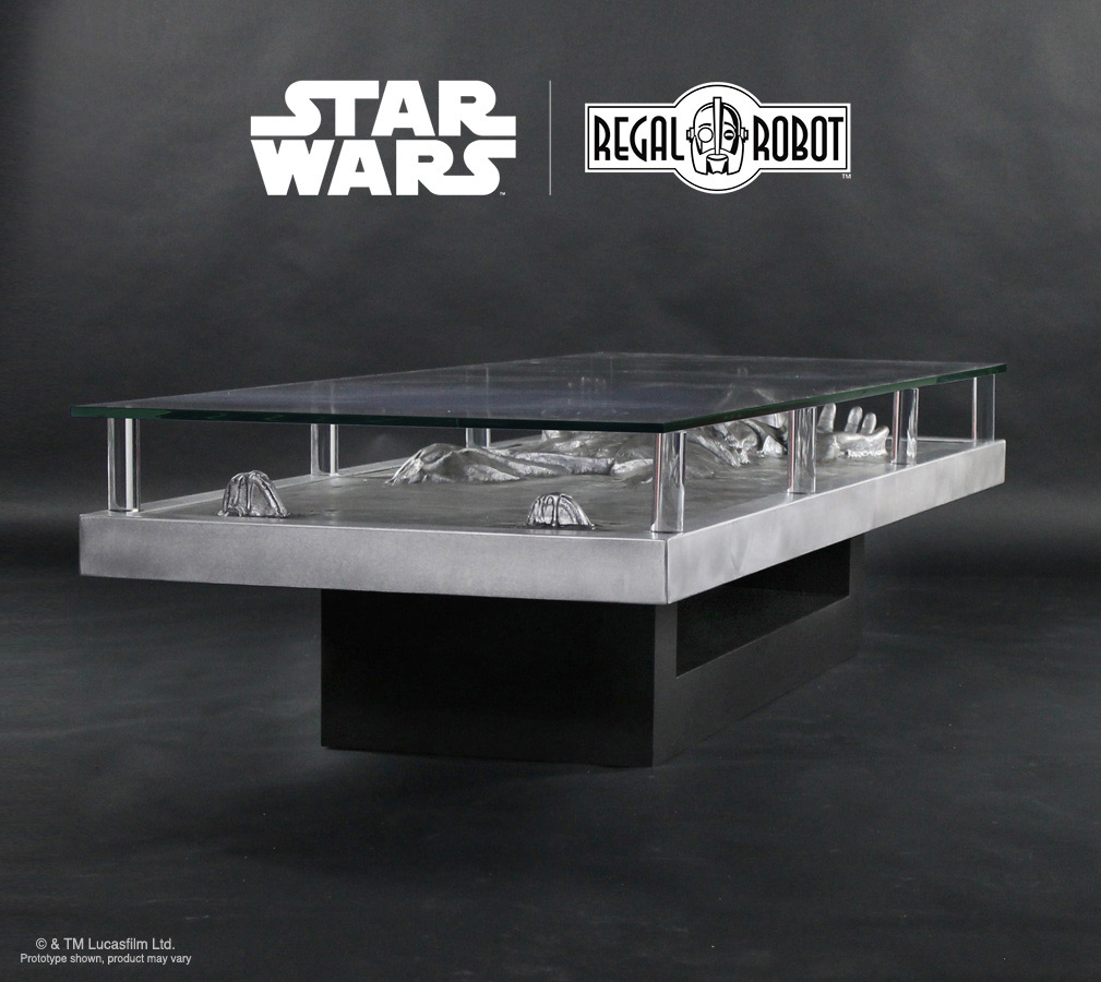 Han Solo Carbonite Coffee Table Images Feature Custom