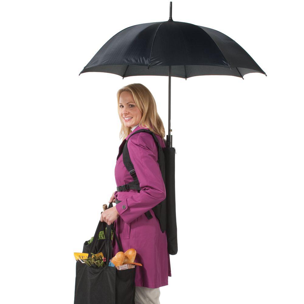 Hands Free Backpack Umbrella The Green Head