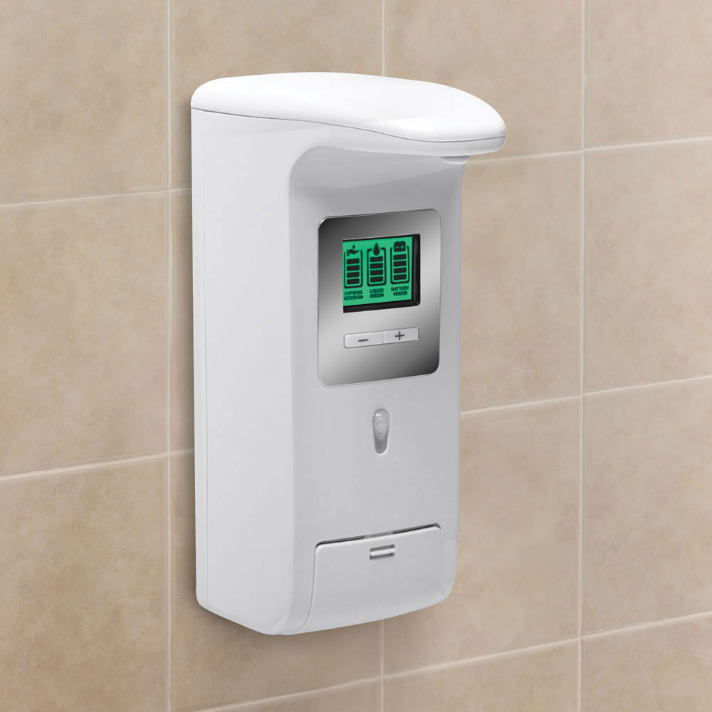 Hands-free-wall-mounted-shower-dispenser-2