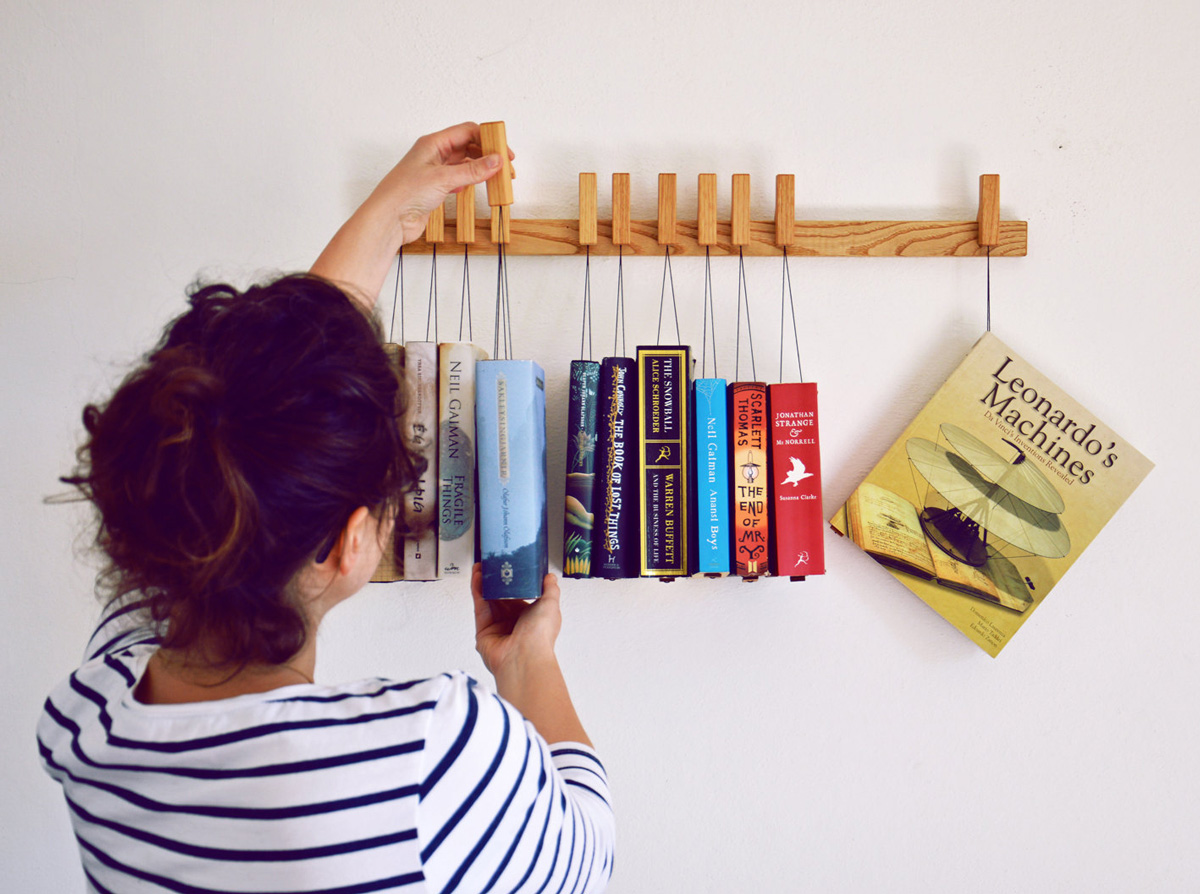 Hanging Book Rack The Green Head
