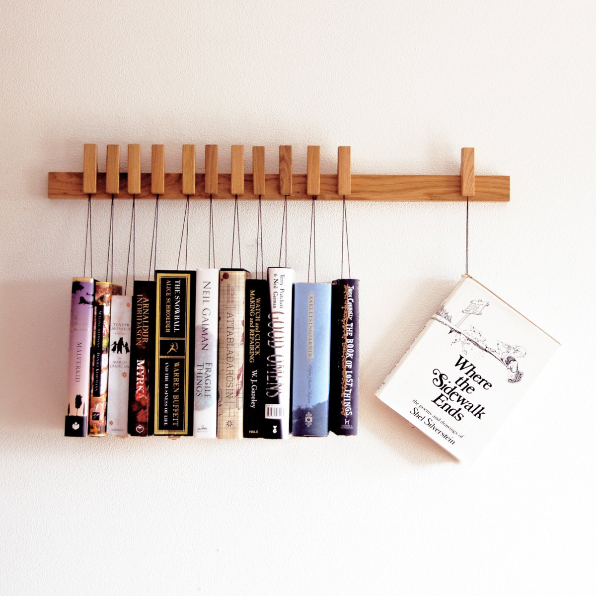 Wall Hung Bookshelf